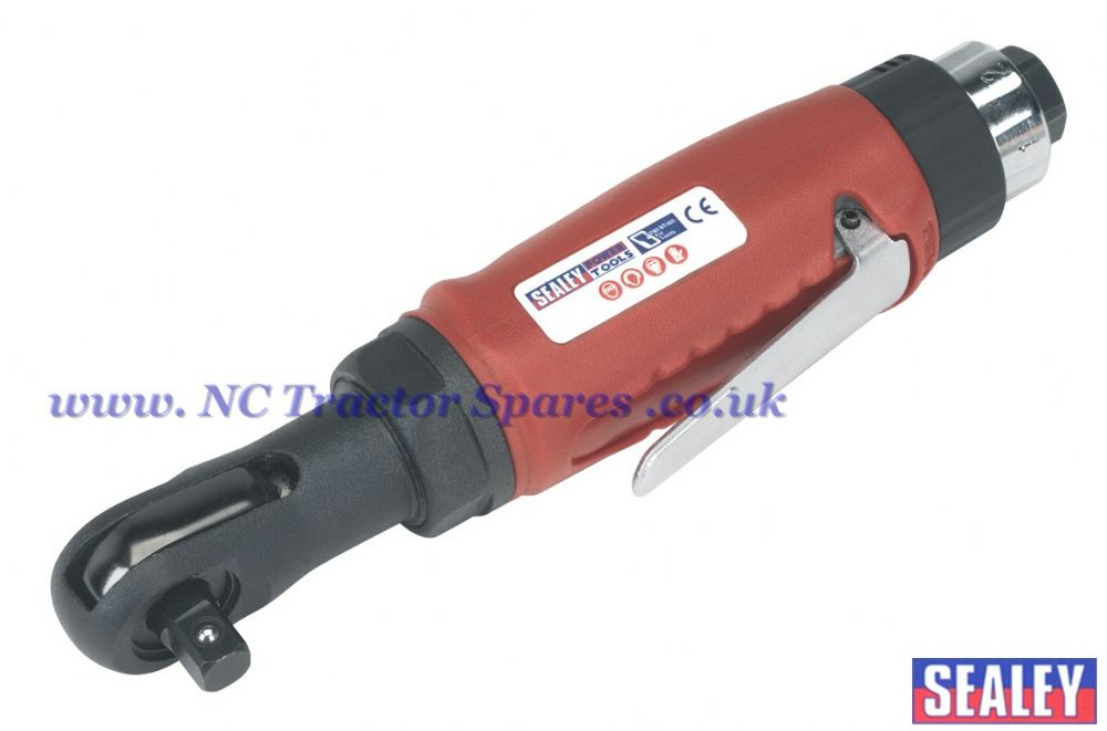 "Compact Air Ratchet Wrench 3/8""Sq Drive"